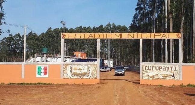 "Passalacqua inauguró el estadio ""Don R.E. Eulogio López"" en Corpus"