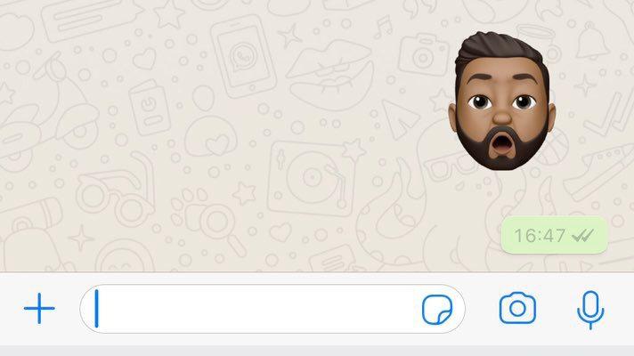 "Llegan los ""memojis"" a WhatsApp"