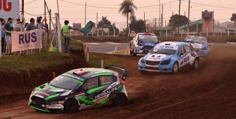 Posadas vibró con el Rallycross CARX y Nicolás Fuchs volvió a destacarse