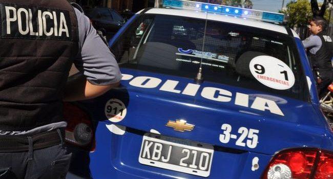 Tres hermanos se enfrentaron a la Policía