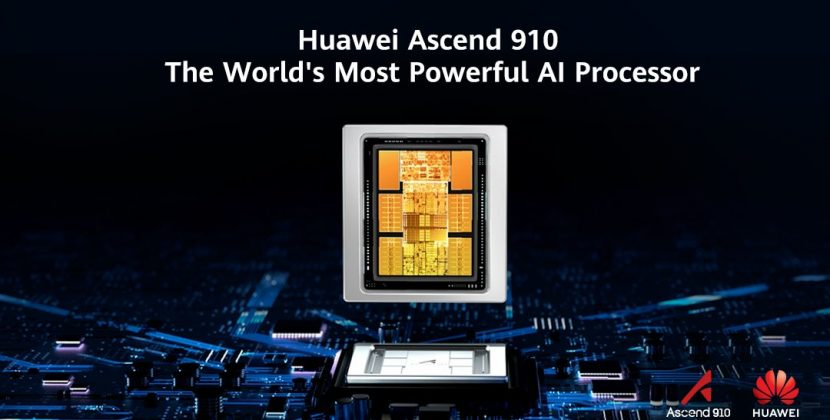 Huawei presenta un chip de IA
