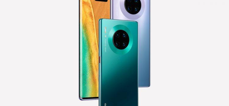Huawei presentó a sus nuevos Mate 30 y Mate 30 Pro