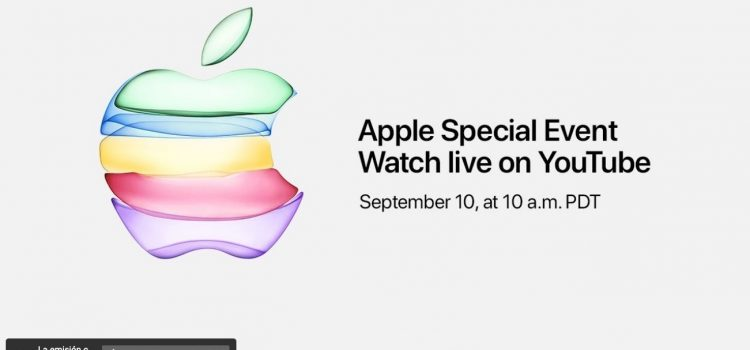 Apple utilizará por primera vez YouTube para retransmitir en directo su keynote