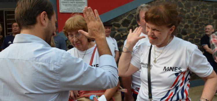 Los adultos mayores misioneros participarán de los Juegos Evita en Pinamar