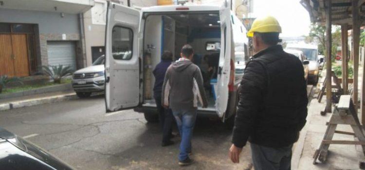 Posadas: Albañil de nacionalidad paraguaya sufrió fracturas tras caer de un edificio