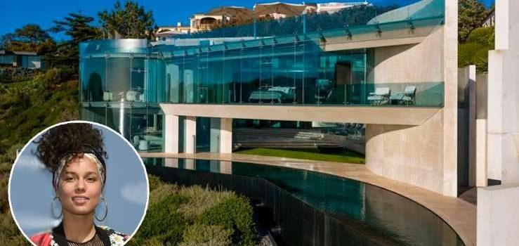 La cantante Alicia Keys compró la supervilla californiana de Iron Man 3 por 21 millones