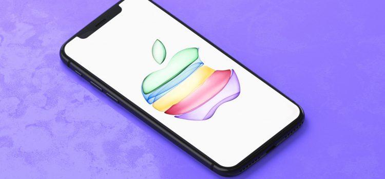 Cambio histórico para Apple, la manzana del iPhone pasará a estar en el centro