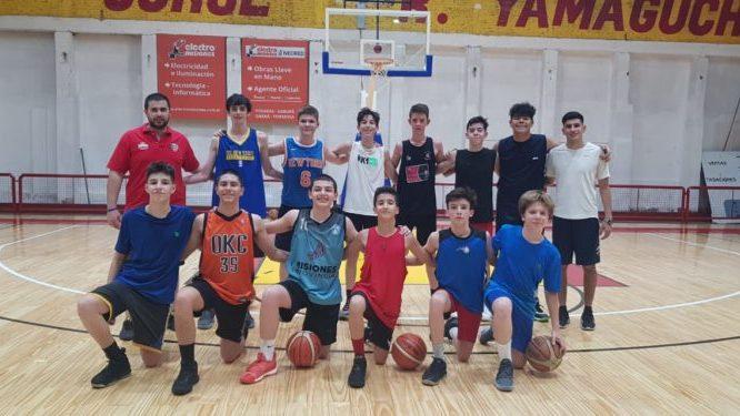 Misiones debutará ante Córdoba en el Argentino U-13