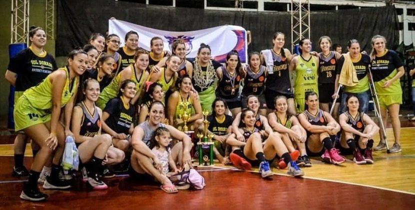 Sol Dorado Slow, Campeón femenino de básquet