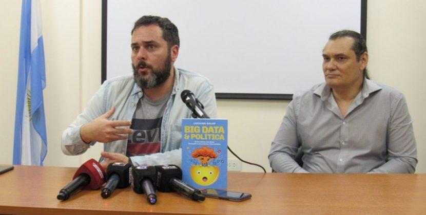 """Luciano Galup presentó su libro """"Big Data & Política""""en Posadas"""