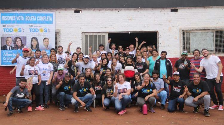 El Frente de Todos realizó asistencia médica a 500 vecinos de Oberá