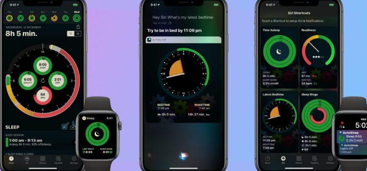Una imagen confirma la existencia de Sleep, la app de Apple para medir el sueño