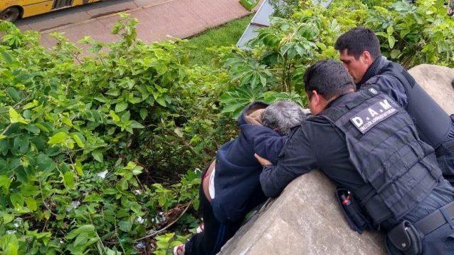 Posadas: Un hombre cayó de un desnivel del Cerro Pelón