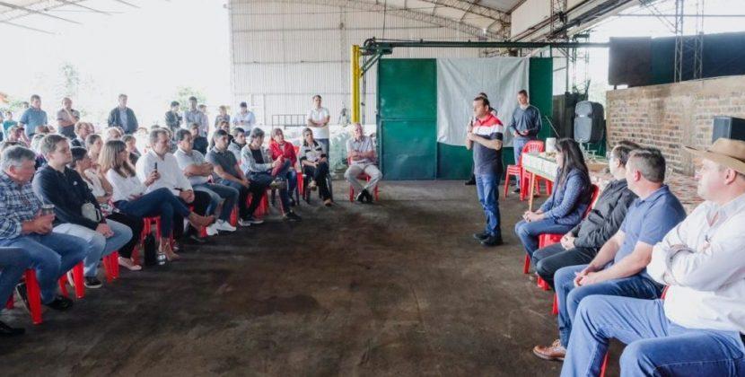 Herrera Ahuad visitó a cooperativistas en Campo Grande